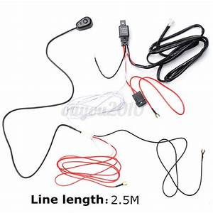 Car Auto Driving Fog Light Wiring Harness Kit Led Work