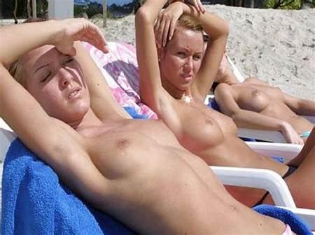 Teens Bathing Sun Nude