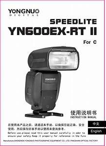 Yongnuo Photographic Equipment Yn600ex