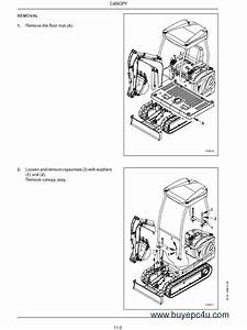 Case Cx16b  Cx18b Mini Excavator Service Manual Pdf