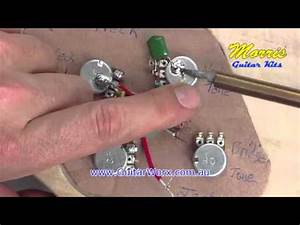 Mockingbird Style Guitar Kit Build 3  4 Volume  Tone  Jack