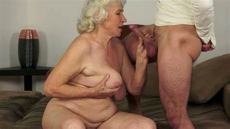 Shaved Granny Blows And Fucking Her Vagina Smashed