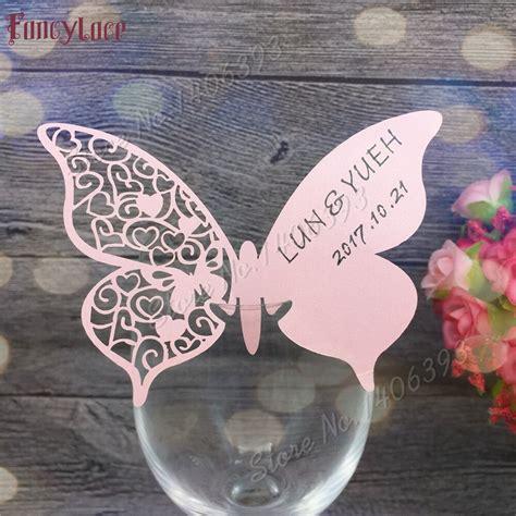Aliexpress com : Buy 60X Wedding place cards wedding table