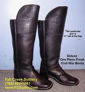 American Shoe Size Chart Sutler Of Civil War Boots And Shoes Fall Creek Suttlery