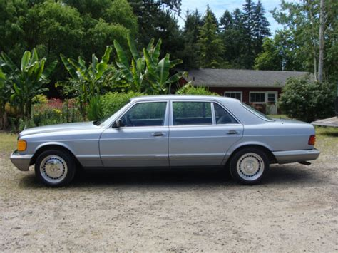 Browse all 1984 mercedes benz 500sel. Original Classic 1984 Mercedes 500SEL Adult Owned, Rust ...