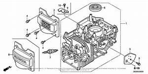 Honda Engines Gcv190la G5br Engine  Usa  Vin  Gjaaa