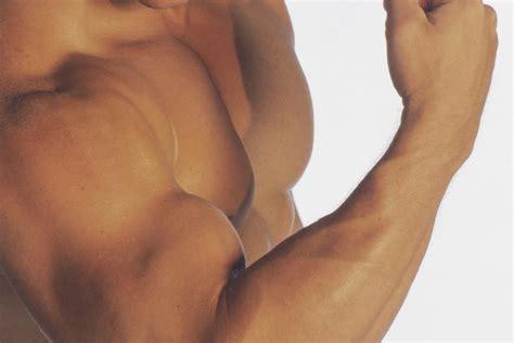 Bultos y venas en el bíceps Muy Fitness