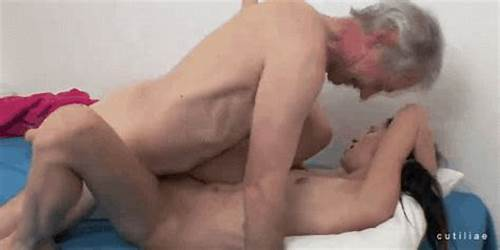 Lucky Grandpa Getting Tiny And Cums On Her Face #Grandpa #Fucking #Cum