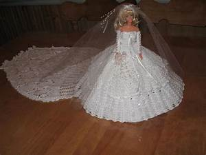 Tricot quebec barbie mariee for Patron de robe de mariée