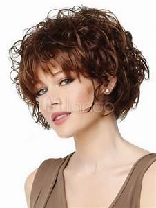 Coupe De Cheveux Bouclés Femme : coupe de cheveux fris s femme 50 ans ~ Nature-et-papiers.com Idées de Décoration
