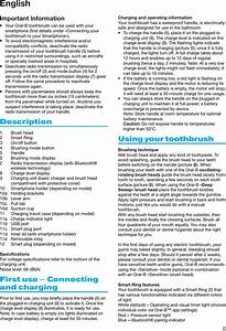 Braun 3765 Electric Toothbrush User Manual 551345 005