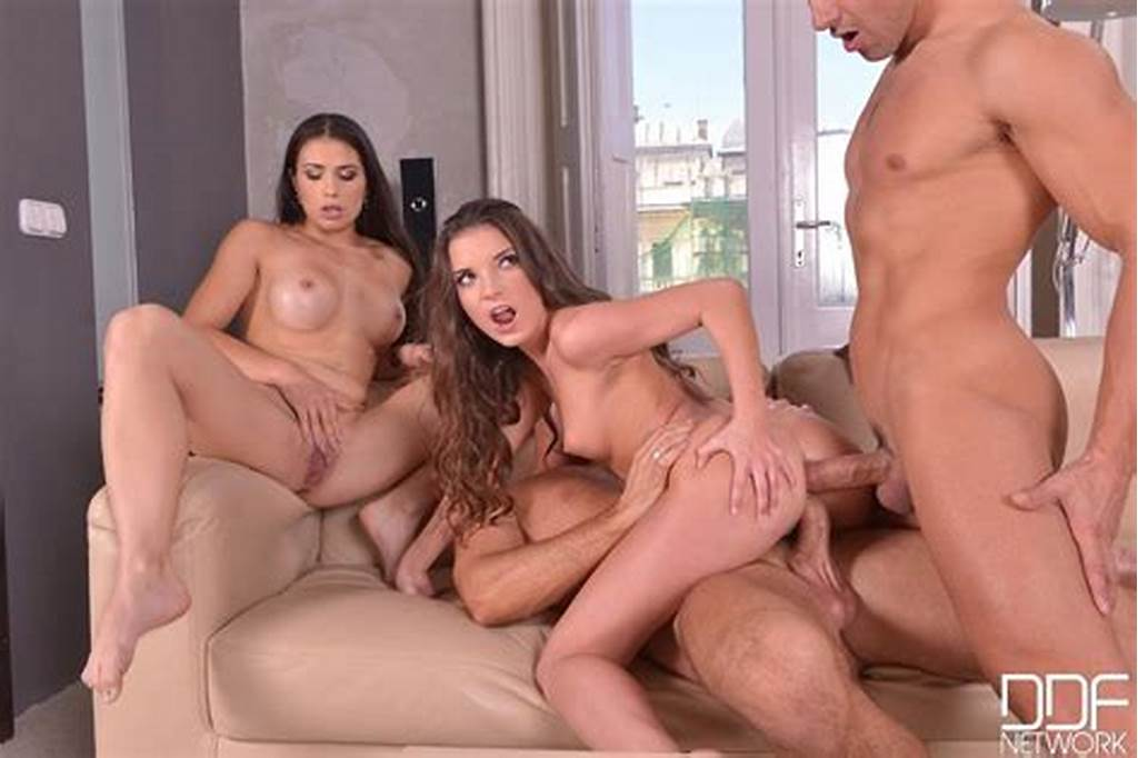 #Anita #Berlusconi #And #Mira #Cuckold #Get #Ass #Drilled #In #A #Tub