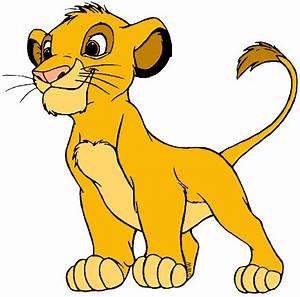 Disney Company Young Simba Clip Art Disney Clip Art Galore