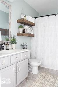 budget bathroom makeovers before and after o the budget With small bathroom makeovers cheap