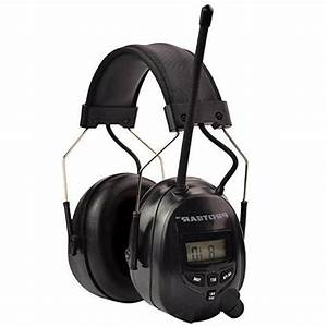 Protear Radio Ear Defenders Hearing Protector Safety Earmuffs