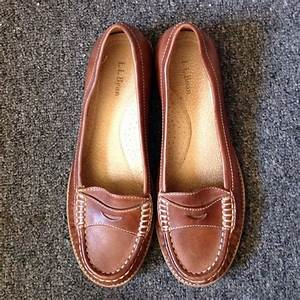 L L Bean Shoes Womens Ll Bean Leather Penny Loafers