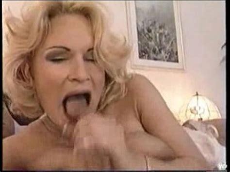 Mature Woman Swallows Cum