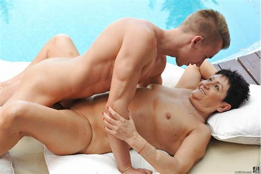 #Young #Guy #Seduces #And #Fucks #Granny #Anastasia #By #The #Pool