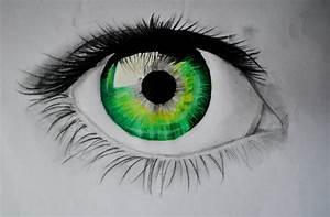 Green Eye by Istharxiii on DeviantArt