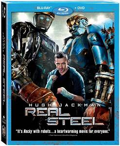 Real Steel Blu-Ray DVD Combo Pack Review - The Mom Maven