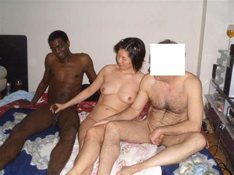 Asian Orgy Cuckolding With Pale Boyfriend