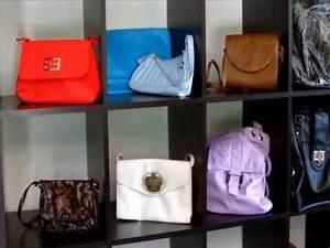 Taschen Platzsparend Aufbewahren : aufbewahrung von handtaschen sehr schick youtube ~ Watch28wear.com Haus und Dekorationen