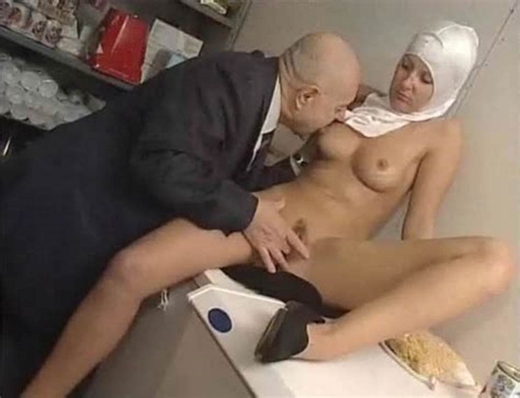 #Naughty #Nun #Played #With #By #Old #Guy