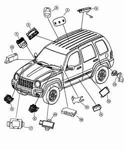2007 Jeep Liberty Module  Receiver  Pressure  Monitoring