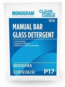 Monogram Clean Force Manual Bar Glass Detergent