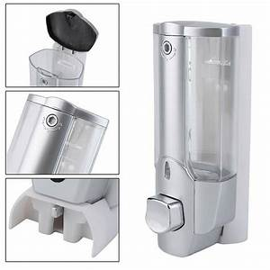 Wall Mounted Liquid Soap Dispenser Bathroom Hand Sanitizer