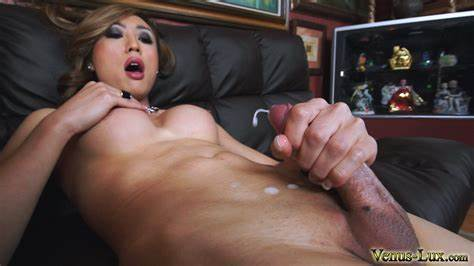 Facials Ladyboy Masturbation Blondes Transsexual Shooting Sperm 20