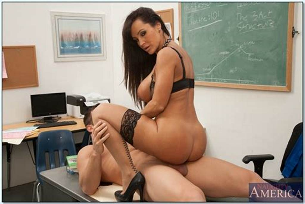#Gorgeous #Teacher #In #Stockings #Lisa #Ann #Gets #Fucked
