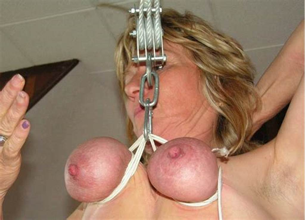 #Mature #Woman #Endures #Breast #Torture