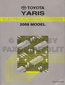 2008 Toyota Yaris Wiring Diagram Original