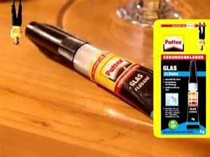 Display Riss Reparieren : pattex glas fl ssig zum reparieren von glas youtube ~ Watch28wear.com Haus und Dekorationen