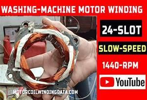 Washing Machine Motor Winding Data Spin Motor Winding Semi