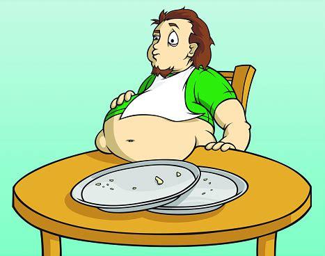 foto de Fat Guy Stuffed Stock Illustration Download Image Now
