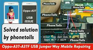 Oppo A-37 Usb Jumper Way Mobile Repairing