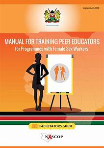 Manual For Training Peer Educators For Programmes With