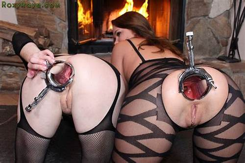 Young Pervert Fisting Wet Tiny Sluts Wrecked Asshole #Lesbian #Speculum #Fist
