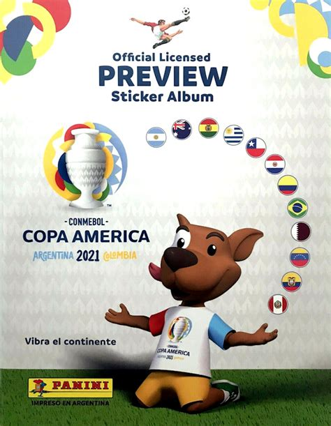 13 june to 10 july host: Football Cartophilic Info Exchange: Panini (Brazil) - CONMEBOL Copa America 2021 Argentina ...