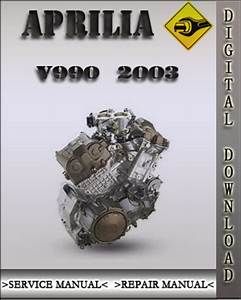2003 Aprilia V990 Engine Factory Service Repair Manual