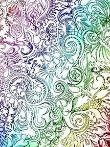 beautiful colourful doodles | doodles | Pinterest ...