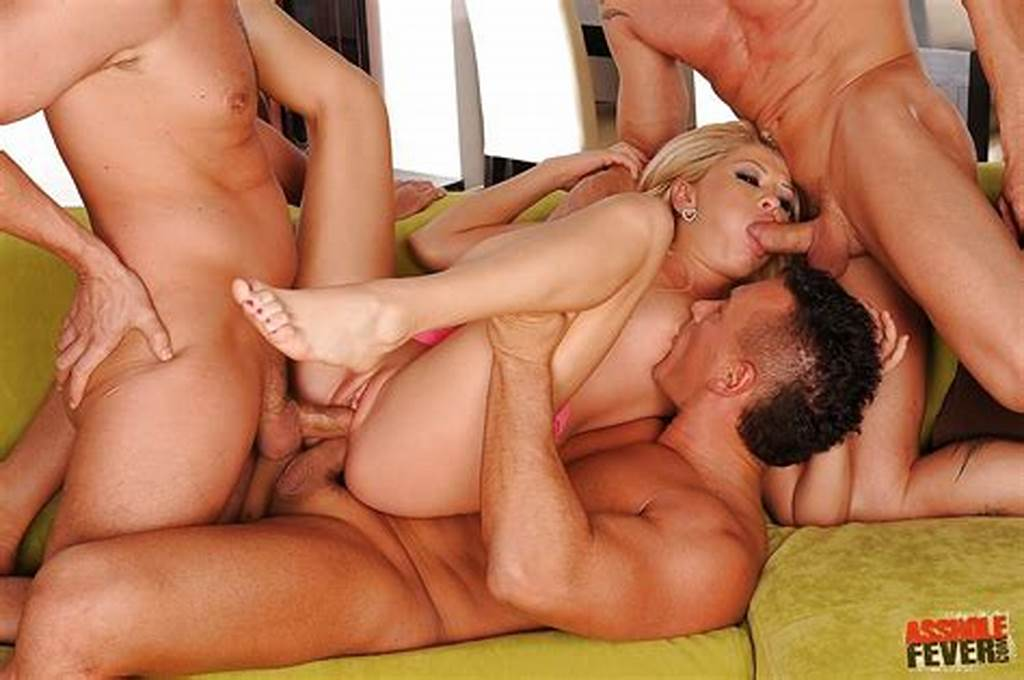 #Girl #Double #Penetrated #At #Orgy