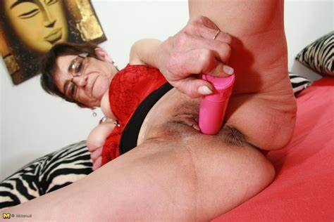 Granny And Her Native Vibrator