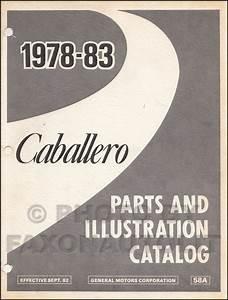 1981 Gmc Caballero Wiring Diagram