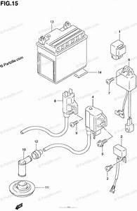 Suzuki Atv 1996 Oem Parts Diagram For Electrical