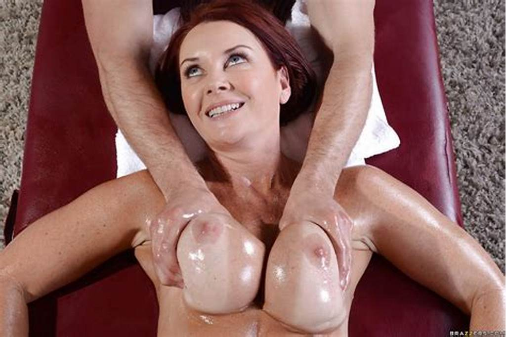#Hardcore #Brunette #Milf #Janet #Gets #A #Massage #And #Gives #A