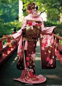 Moderne Japanische Kleidung : modern japanese kimono sweet sakura furisode kimono ~ Watch28wear.com Haus und Dekorationen