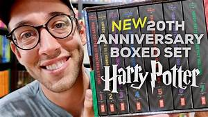 NEW HARRY POTTER BOXED SET REVIEWED! 20TH ANNIVERSARY ...